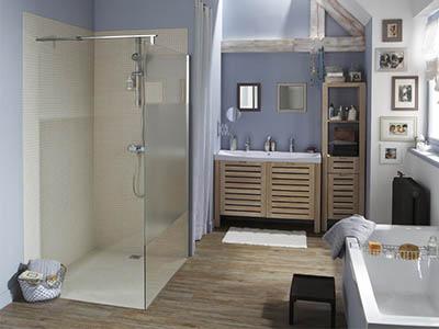 Changer sa baignoire par une douche l italienne devis - Transformer sa baignoire en douche italienne ...